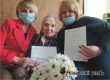 В Аткарске поздравили с 90-летием Раису Петровну Лушникову