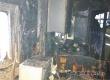 Одиноко проживающая пенсионерка не пострадала при пожаре в своем доме