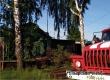 Пожар на улице Революционная уничтожил деревянную пристройку дома