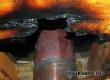 В Аткарске из-за неисправности оборудования загорелся потолок в бане