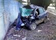 В Аткарске 33-летний водитель «Гранты» протаранил забор и погиб