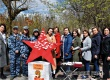 В парке Аткарска прошла патриотическая акция «Звезда Памяти»
