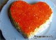 Новогодний салат «Сердце ангела» – рецепт дня от «Уезда»